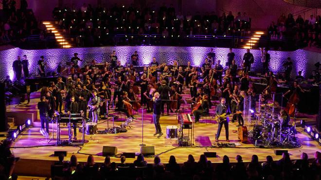 Bastille appears with Kristjan Järvi and Baltic Sea Philharmonic at Hamburg's Elbphilharmonie