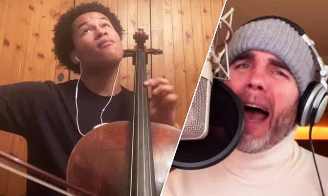 Sheku Kanneh-Mason and Gary Barlow duet on 'Hallelujah'