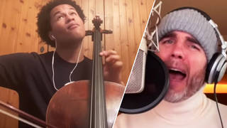 Watch Sheku Kanneh-Mason and Gary Barlow perform a stunning pop/classical rendition of 'Hallelujah'