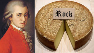 Scientists played Mozart to cheese