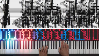 AI pianist plays 'unplayable' black MIDI music
