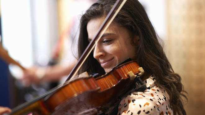 52 per cent of orchestral violinists are women