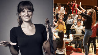 Violinist Nicola Benedetti has announced a new series of 'With Nicky'
