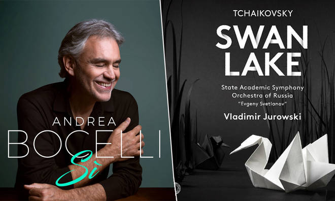 Andrea Bocelli's Sì and Tchaikovsky's Swan Lake