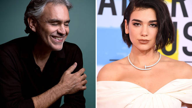 Andrea Bocelli and Dua Lipa release new duet 'If Only'