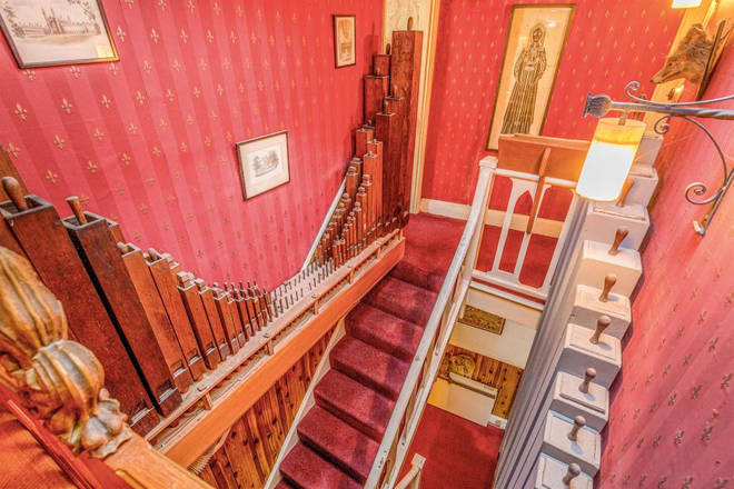 Clifton Wood Crescent has a gorgeous built-in pipe organ