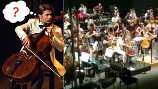 Gautier Capuçon cello prank
