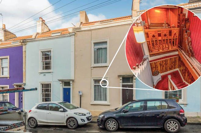 This little terraced house seems ordinary outside. But has an enormous musical surprise…