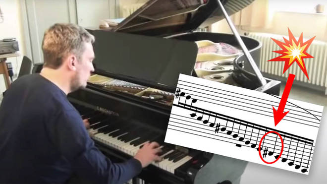 When a grand piano string explodes...