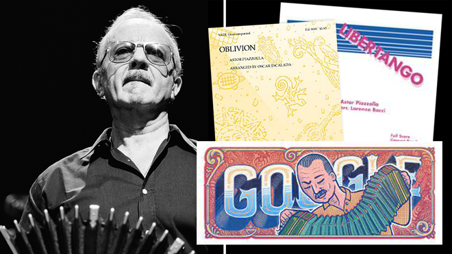 Who was Astor Piazzolla? The Argentine tango composer in today's Google Doodle