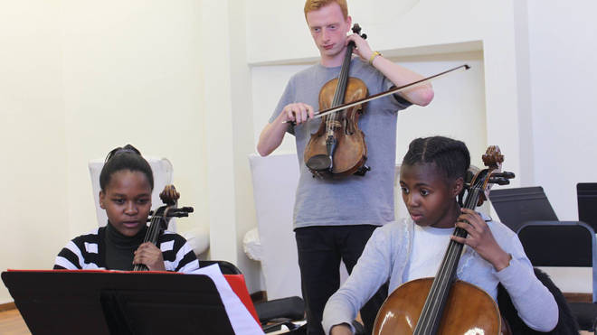 ARCO provides music education for children in South Africa