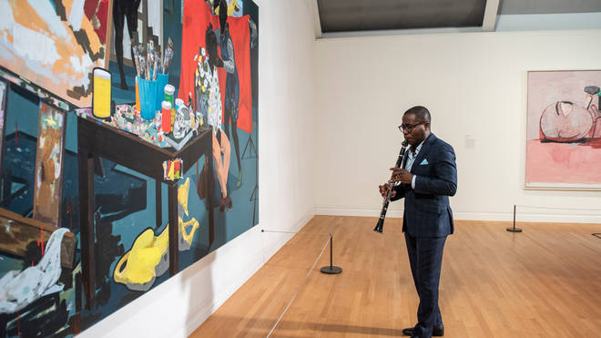 Anthony McGill performs at the Metropolitan Museum of Art.