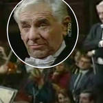 Leonard Bernstein conducts an orchestra with just his eyebrows