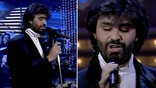 When the world saw a young Andrea Bocelli sing 'Con te partirò' for the very first time