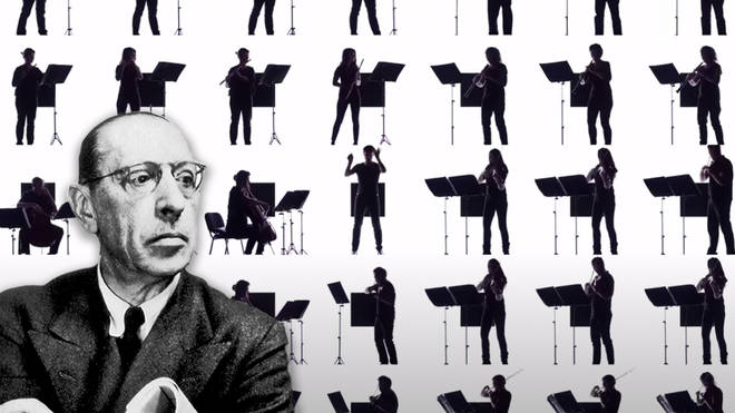 Isolated musicians create hypnotic 'Sacrificial Dance' with light-boxed Stravinsky
