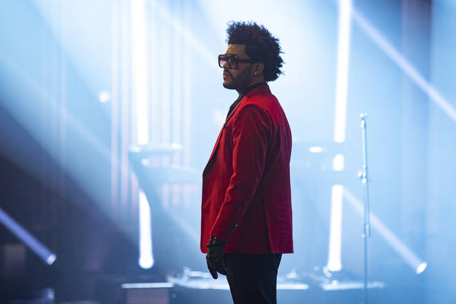 The Weeknd on The Late Late Show with James Corden, 2021
