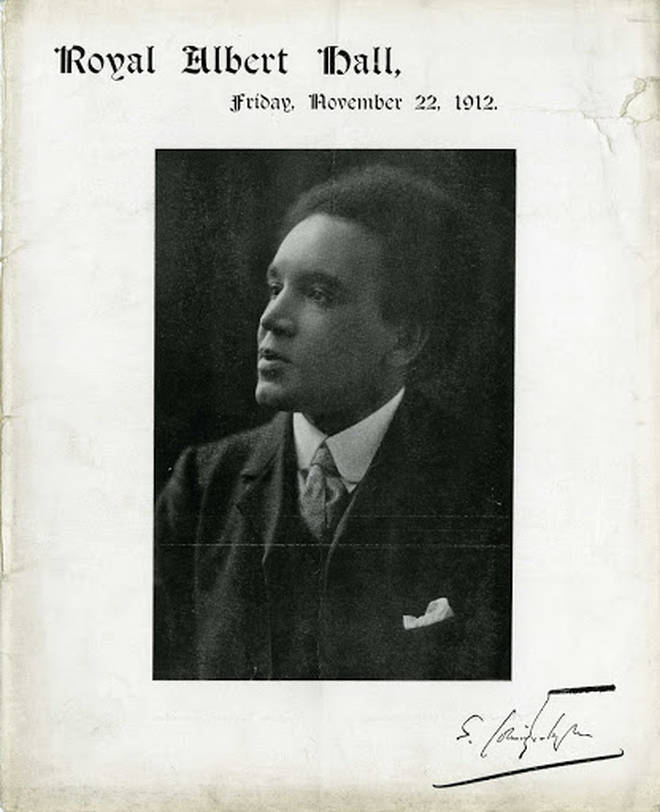 Samuel Coleridge-Taylor conducts a memorial event for his family