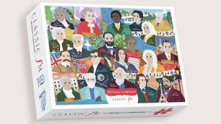 Pre-order Classic FM's limited edition 'Great Composers' charity jigsaw puzzle