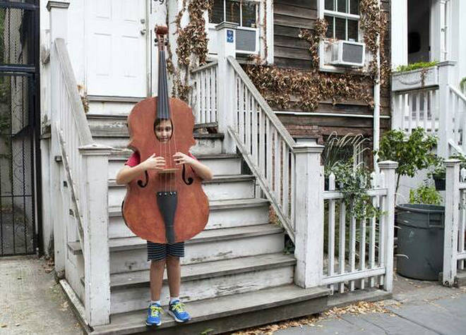 Cello boy