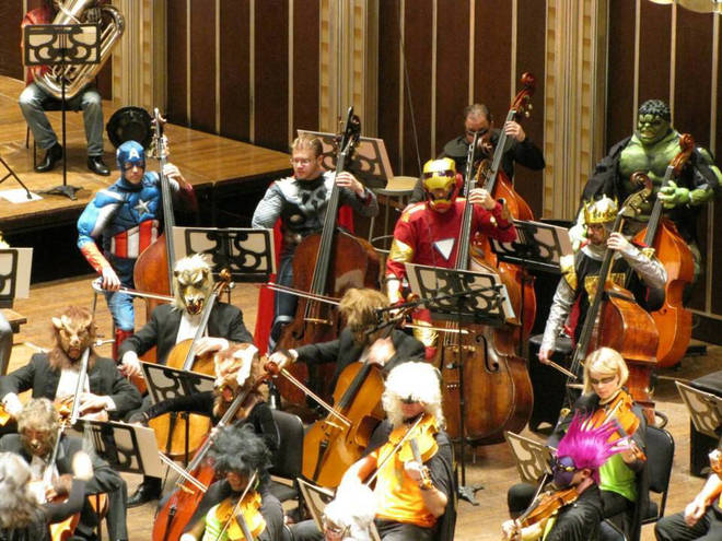 The Cleveland Orchestra on Halloween