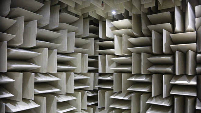The quietest place on earth is a concrete chamber silent enough to hear your own heartbeat