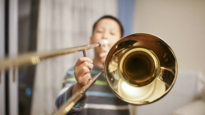 Only 2 per cent of children want to learn the trombone