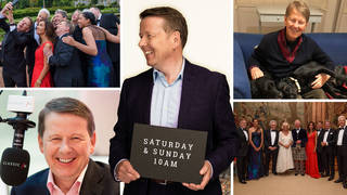Bill Turnbull is celebrating 5 years at Classic FM