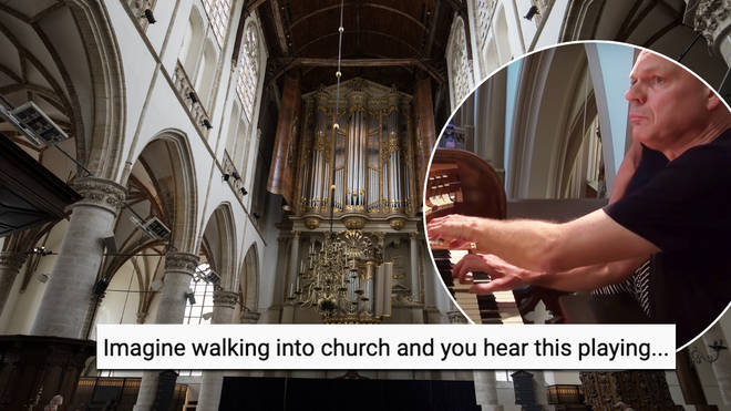 Church organist plays utterly spine-chilling version of 'The Exorcist' main theme