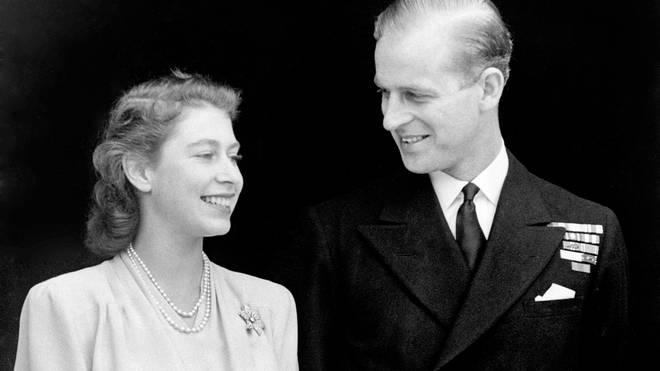 Queen Elizabeth II and Prince Philip, the Duke of Edinburgh