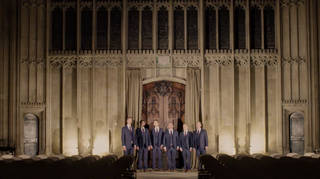 The Queen's Six at St George's Chapel, Windsor Castle