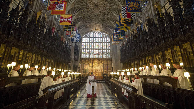 St George's Chapel, Windsor Castle, is shaped by the history of the British Monarchy