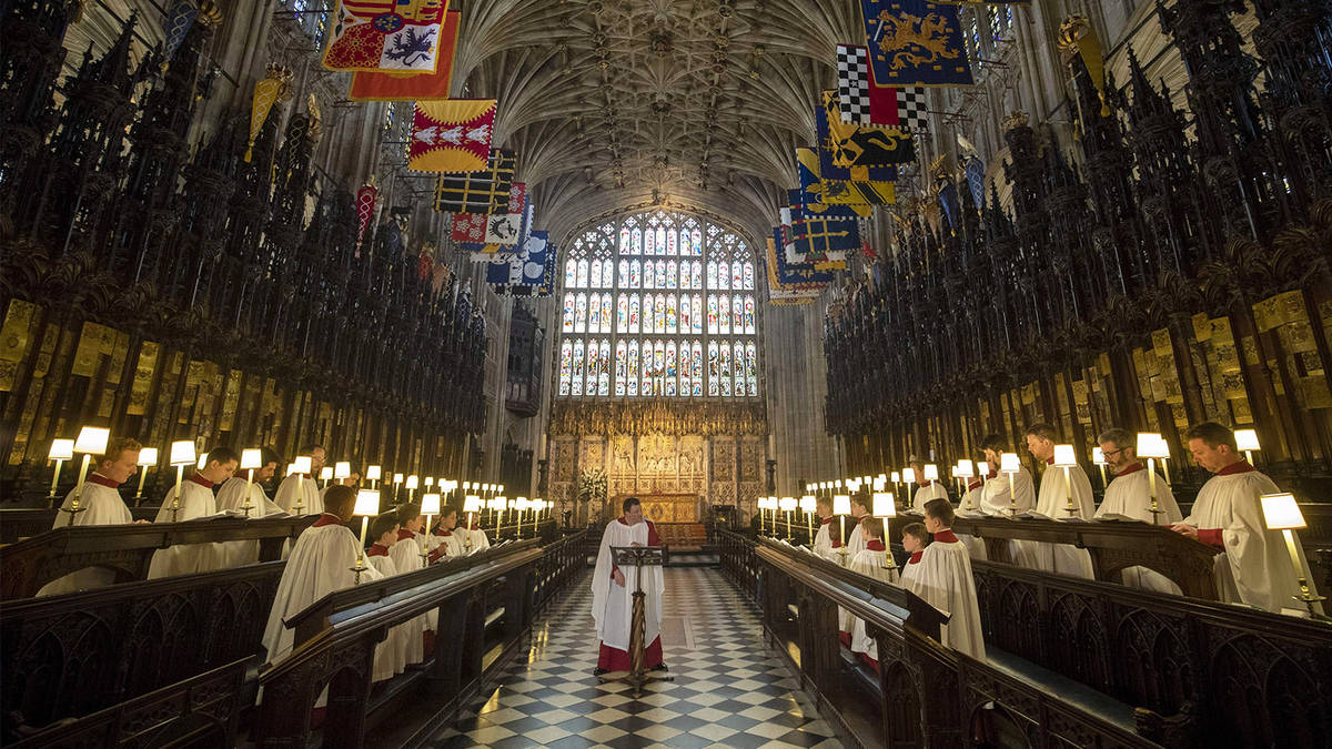 St George's Chapel, Windsor Castle: who is buried in the royal vault, and  can you... - Classic FM