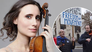 "Violinist Jennifer Pike: ""Limited freedom of movement is disastrous for the arts"""