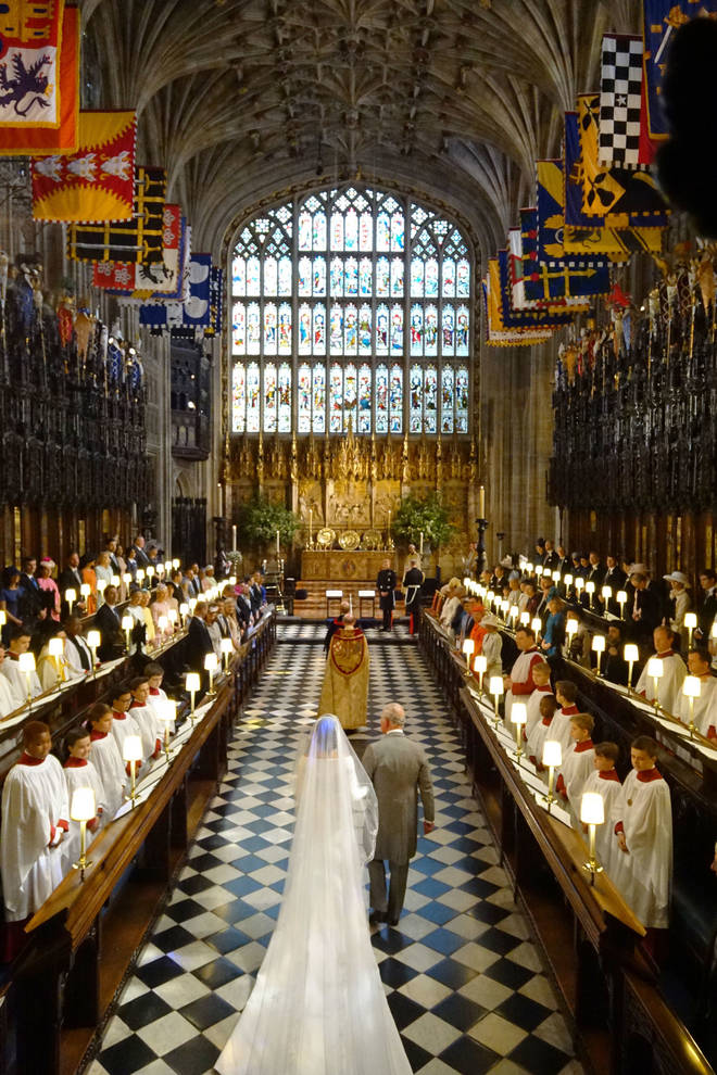 Harry and Meghan, The Duke and Duchess of Sussex, wed at St George's Chapel in 2018