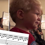 Toddler is moved to tears by Beethoven