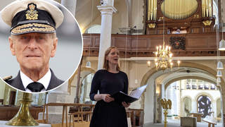 HRH Duke of Edinburgh tribute at Portsmouth Cathedral