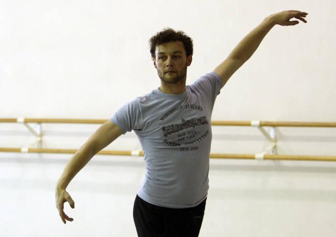 Royal Ballet choreographer Liam Scarlett works with Miami City Ballet dancers