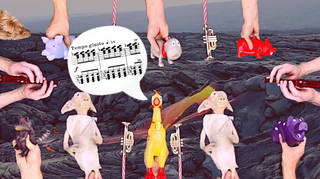 Stravinsky's The Rite of Spring Toy Orchestra