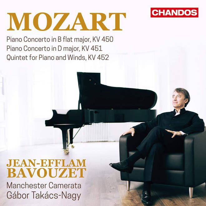 Jean-Efflam Bavouzet Mozart Piano Concertos