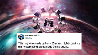 Hans Zimmer composes an 'orchestra' of sounds to replace phone company's tired ringtones
