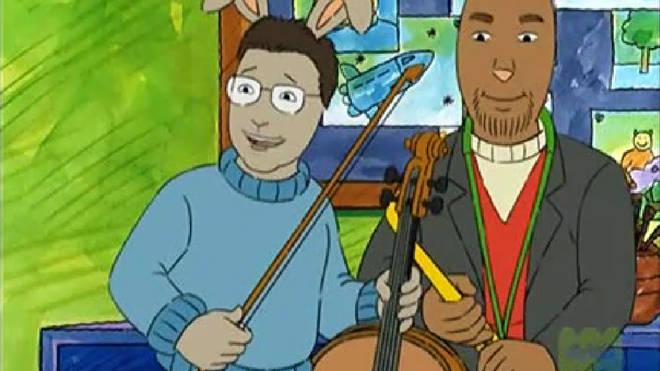 Episode of Arthur features Yo-Yo Ma and Joshua Redman playing a duet