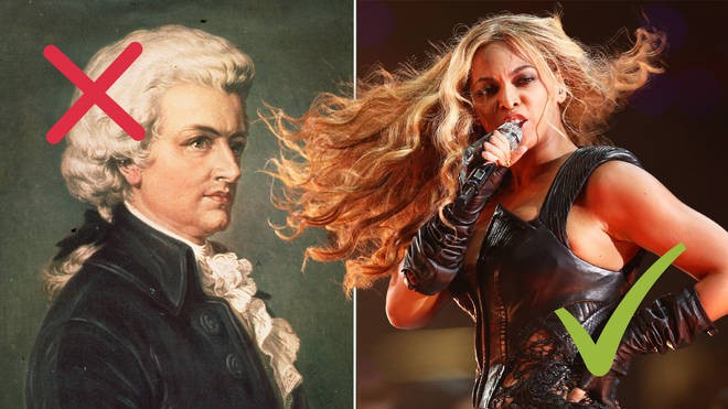 Only a music guru can tell whether these facts are about Mozart or Beyoncé