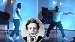 Hip-hop dancer glides to Philip Glass piano music