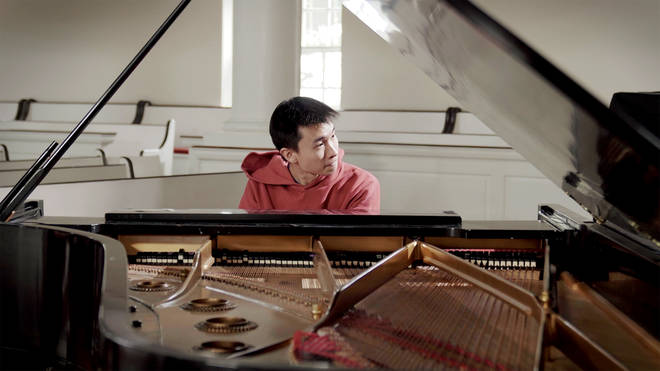 Pianist Thomas Deng didn't have an orchestra to accompany him, so he played every part of a Chopin concerto.