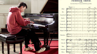 Solo pianist plays every single orchestral line in painstakingly brilliant Chopin concerto