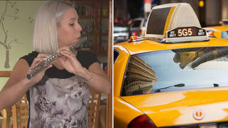 Nearly a decade ago, her £10k flute vanished in a cab. Now, it has finally been returned.