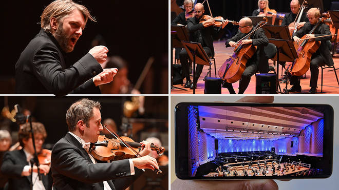 Bournemouth Symphony Orchestra is being showcased by G7 ministers for innovative pandemic times concerts