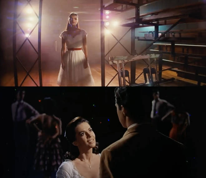 Tony and Maria scene in West Side Story: 2021 vs 1961