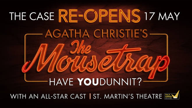 Book tickets Agatha Christie's Mousetrap