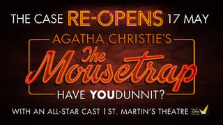 Book tickets Agatha Christie's Mouse Trap